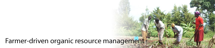 Farmer-driven organic resource management (c)FiBL